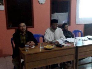 Rapat Anggota Tahunan Kelompok Tani Tunas Harapan Mandiri Dusun Legokmenol