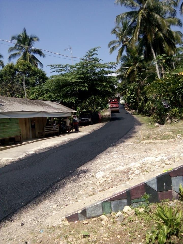 Pemerintah Desa Sidamulih Alokasikan Dana Desa Tahun 2018 ke Jalan Utama Desa