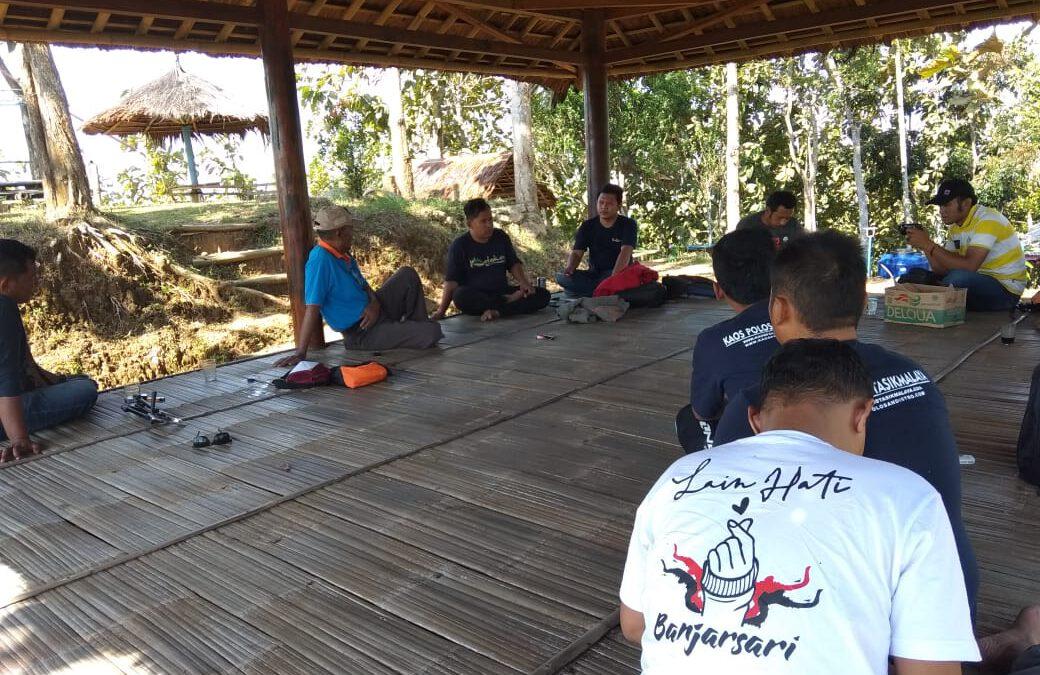 Komunitas Kalakay The Gold Community Bersama Pokdarwis Desa Sidamulih Tinjau Potensi Wisata Desa